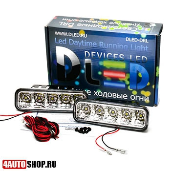 DLED ДХО Ходовые дневные огни DRL - 131 SMD5050 2x2.5W